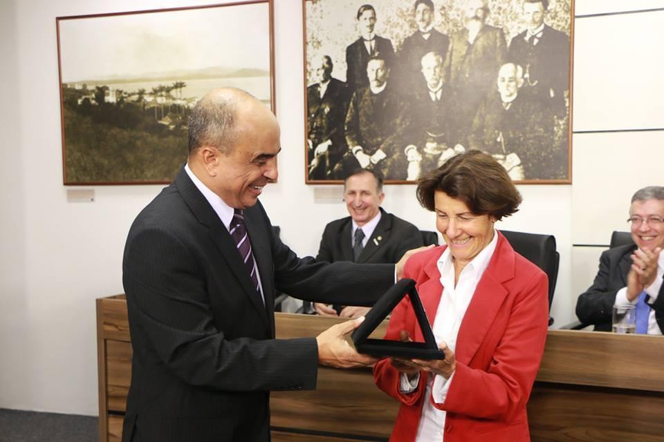 FETRISC recebe homenagem da Câmara Vereadores SJ