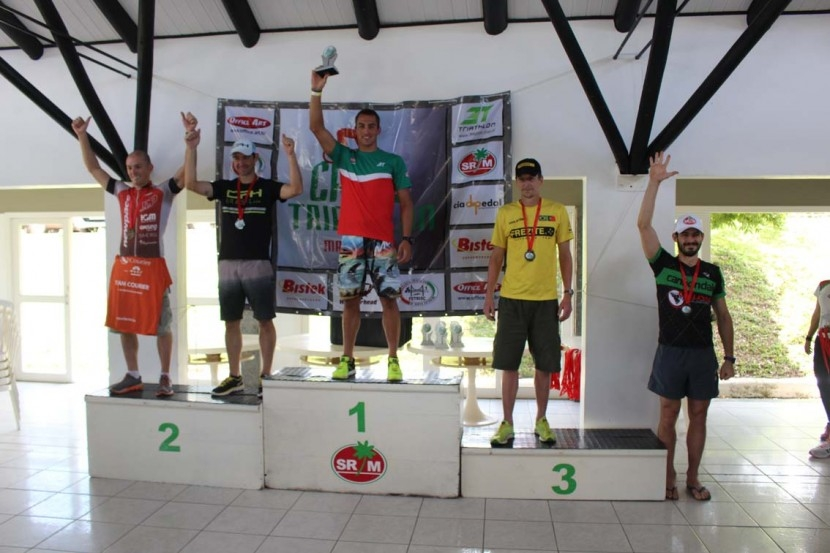 Definido os campeões do Campeonato Cross Triathlon