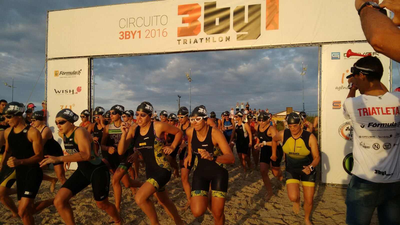 Temporada de Triathlon inicia em Itapoá