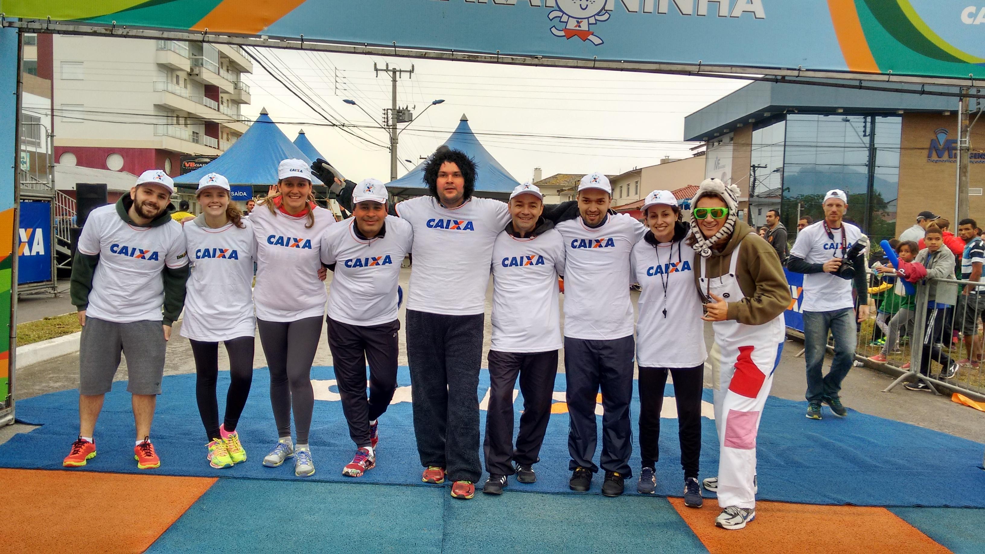 Maratoninha da Caixa com participação da FETRISC