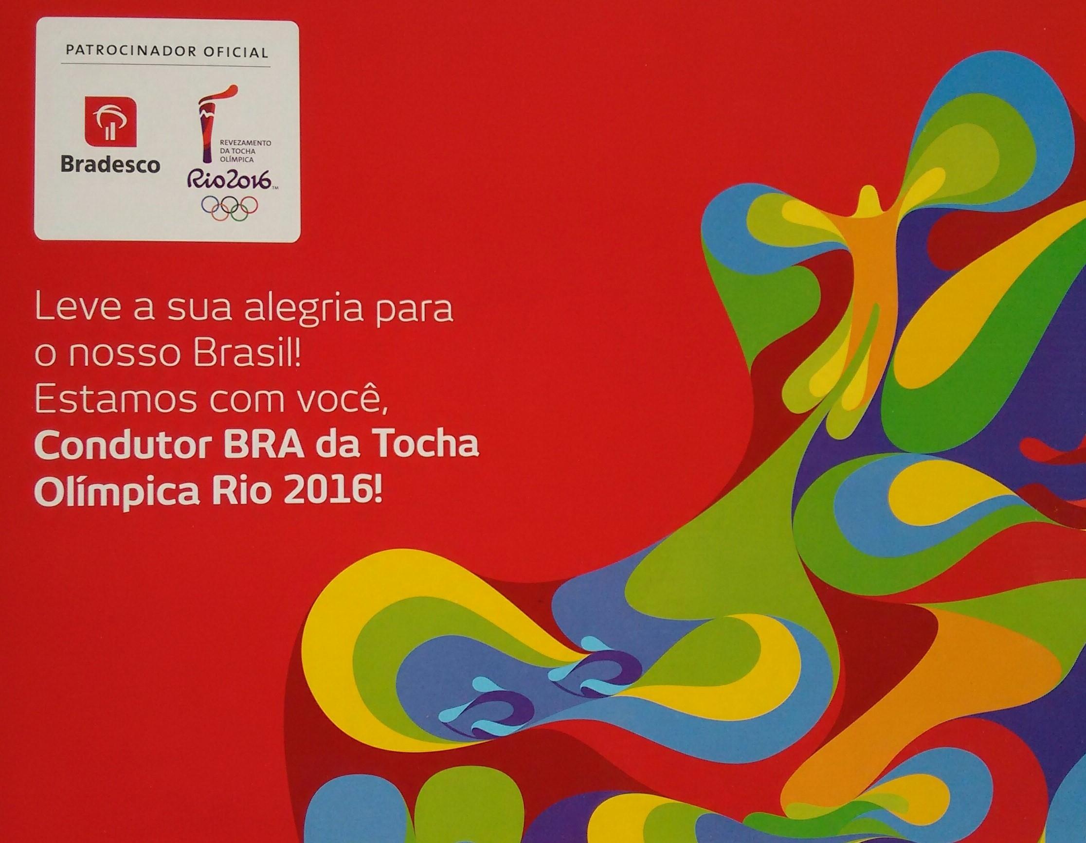 Passagem da Tocha Olímpica em São José