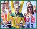 O  triathlon estréia nos Jogos Pára Olímpicos