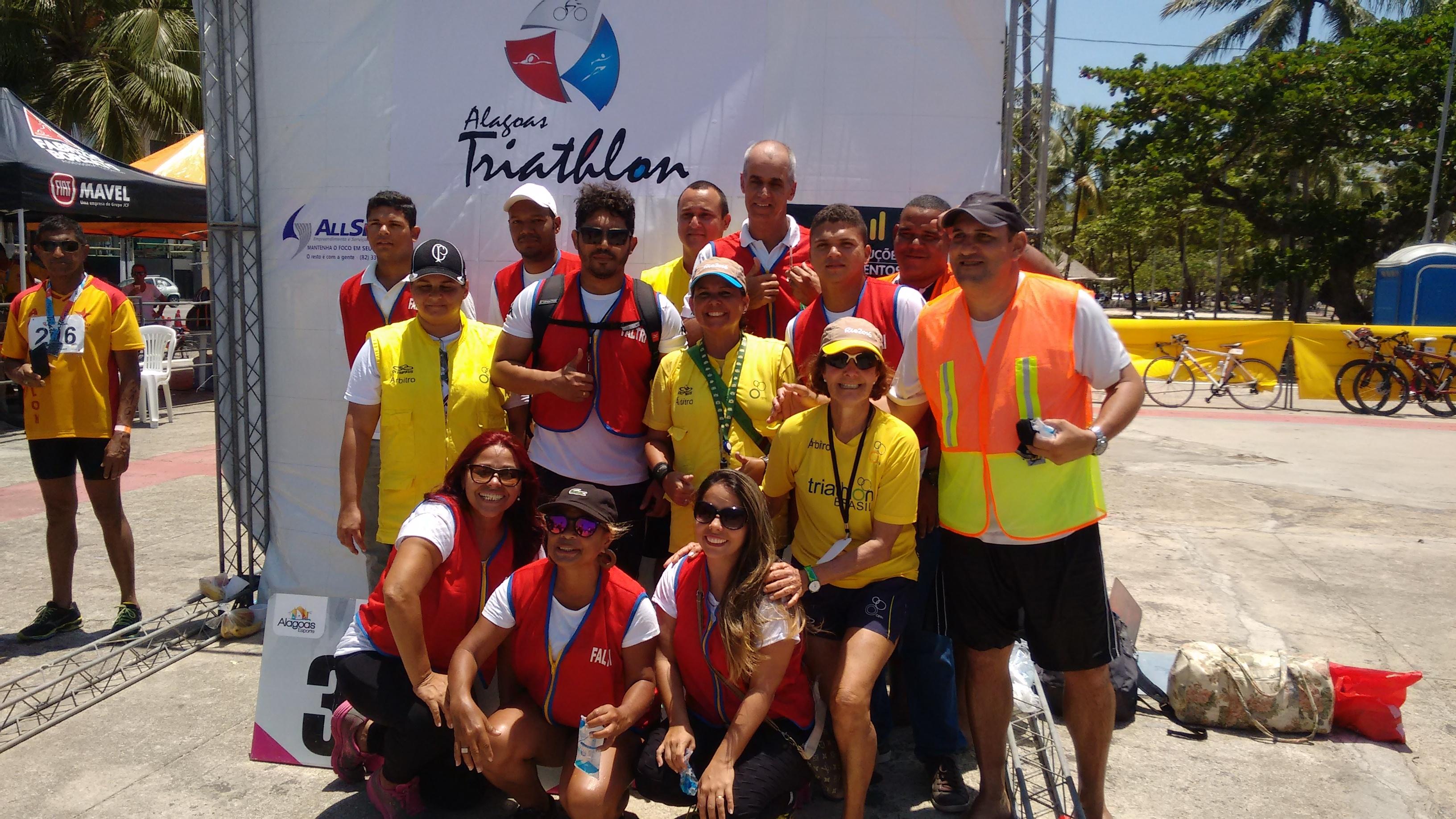 Santa Catarina apoiando o Triathlon Alagoano