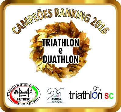 Premiação Ranking Campeões 2016