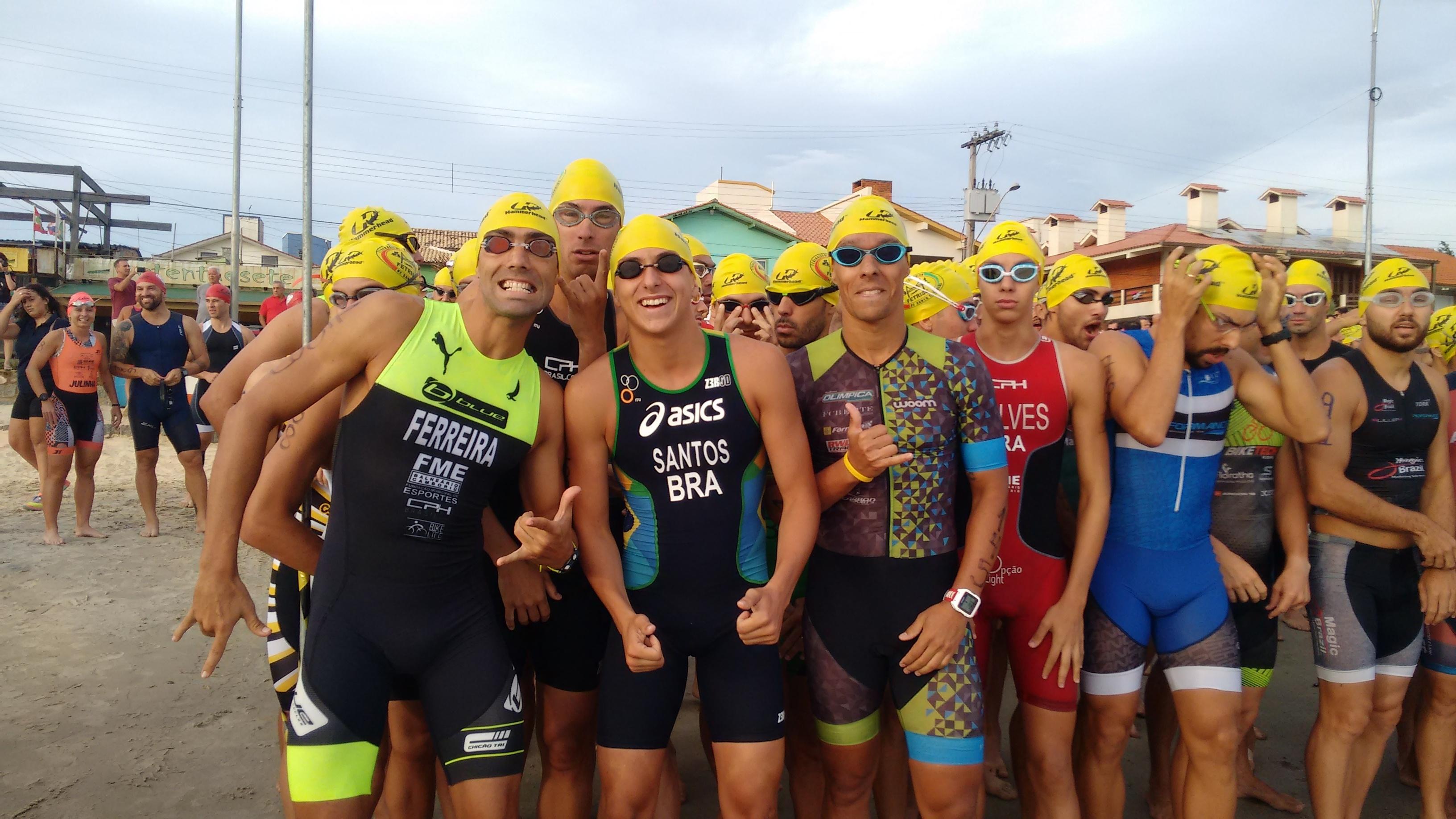 25o. Triathlon de Garopaba  com elevado número de atletas