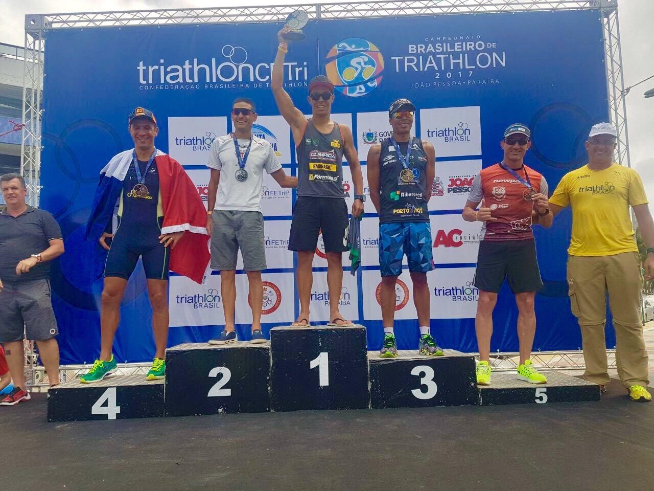 Santa Catarina no CB Triathlon em João Pessoa