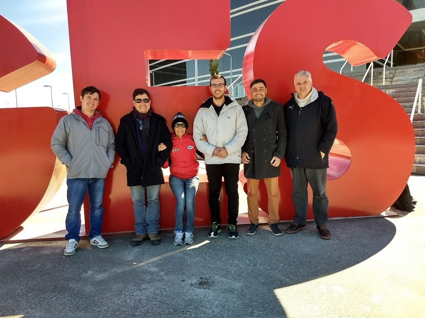 Equipe FETRISC visita Lages, sede dos JASC