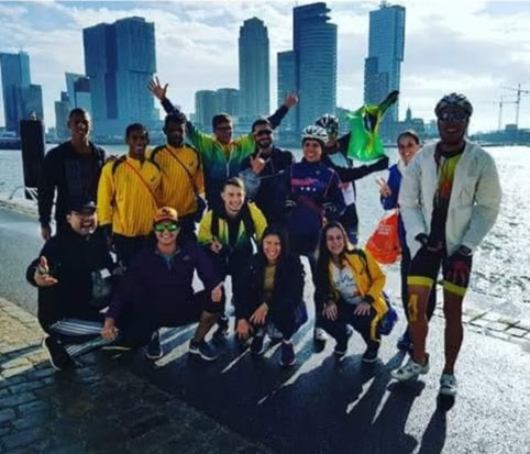 Catarineses na ITU Roterdã Triathlon