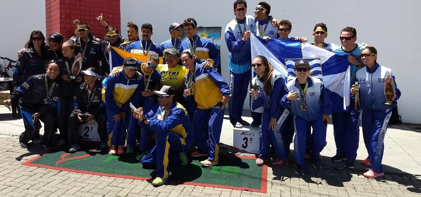 Triathlon encerrou com chave de ouro os 57o. JASC Lages 2017