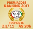 Premiação Ranking Catarinense 2017