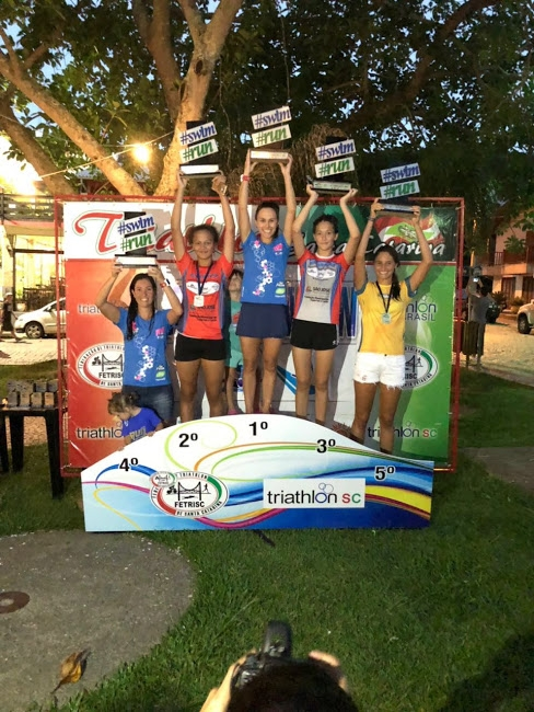 Aquathlon Sunset de Garopaba abriu Campeonato Catarinense