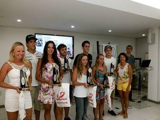 Belo cenário do Morro da Cruz recepciona campeões