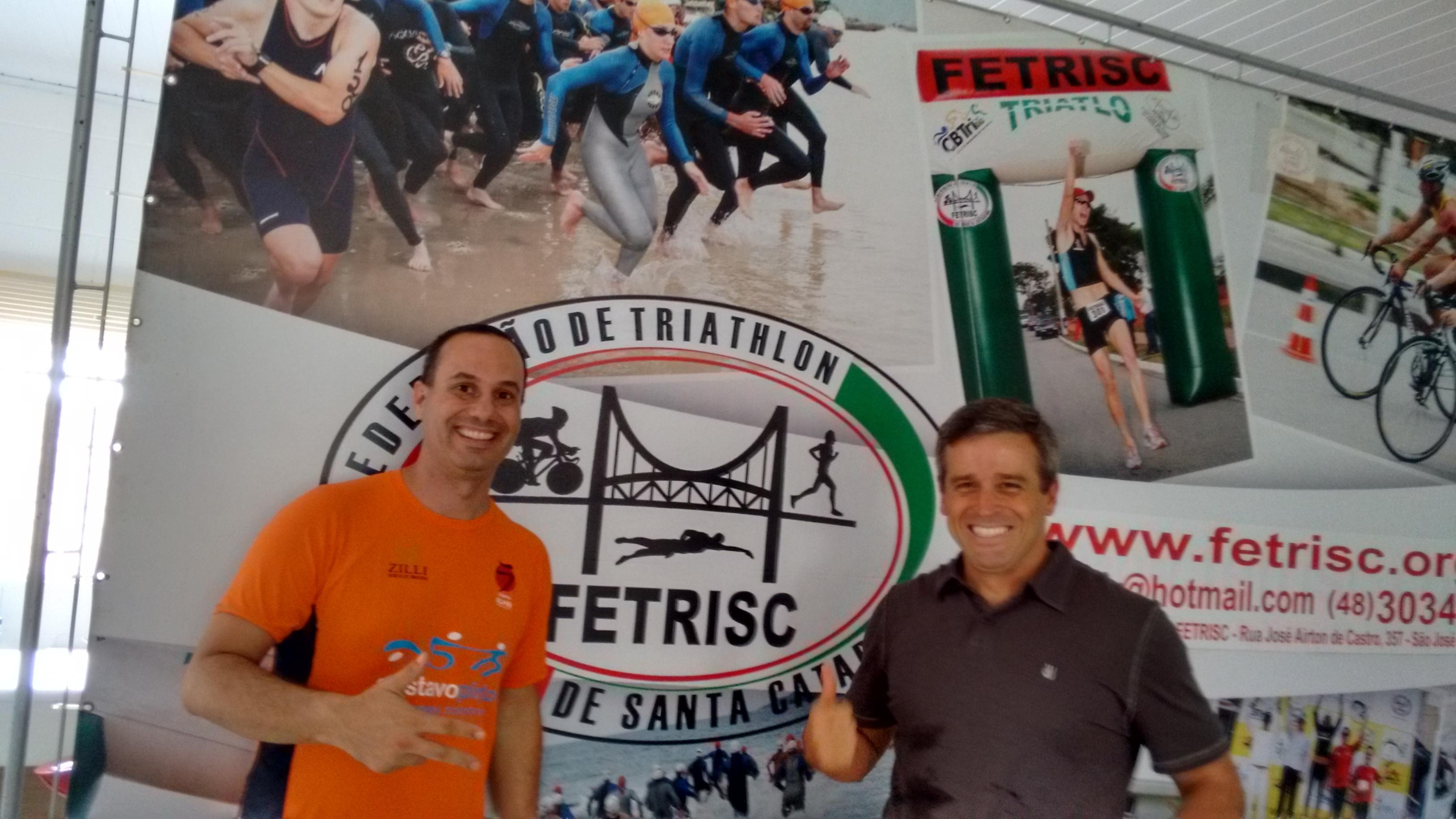 Equipe Ironman 2015 visita FETRISC