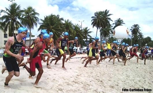 Diogo e Pamela vencem Brasileiro Triathlon