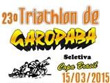 Record de inscritos no 23. Triathlon de Garopaba