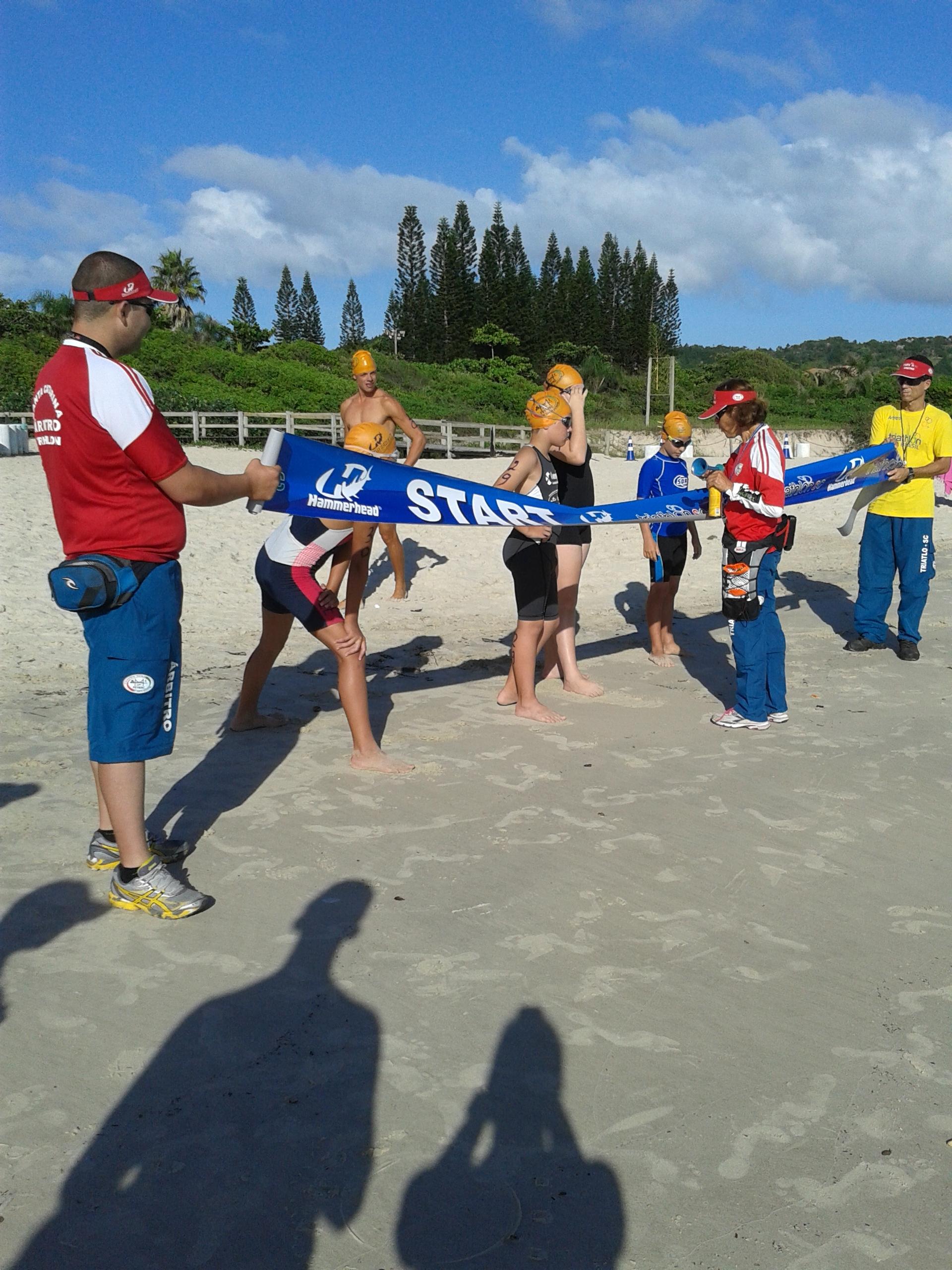 Campeonato de Aquathlon em 29 de março em Jurerê