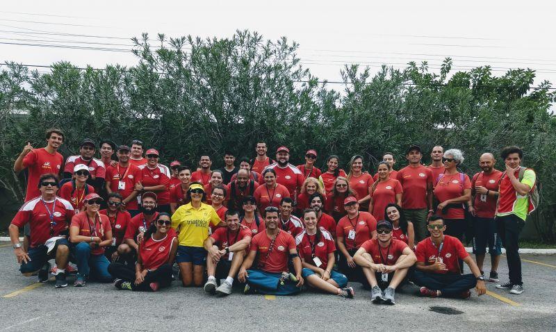 Valorosa equipe de arbitragem FETRISC atuante na Copa Brasil 2018