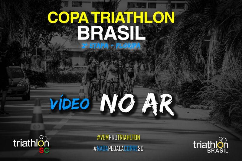Saiu o vídeo da COPA  BRASIL DE TRIATHLON ETAPA FLORIANÓPOLIS