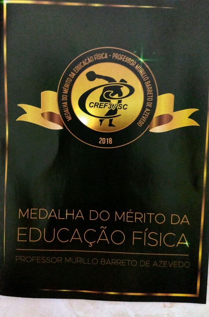 Solenidade de entrega Medalha do Mérito da Educação Física