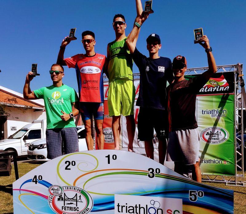 Triatleta Jorge Fonseca campeão mundial Para Triathlon