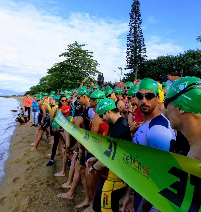 Triathlon da Base Aérea última Etapa Campeonato Catarinense