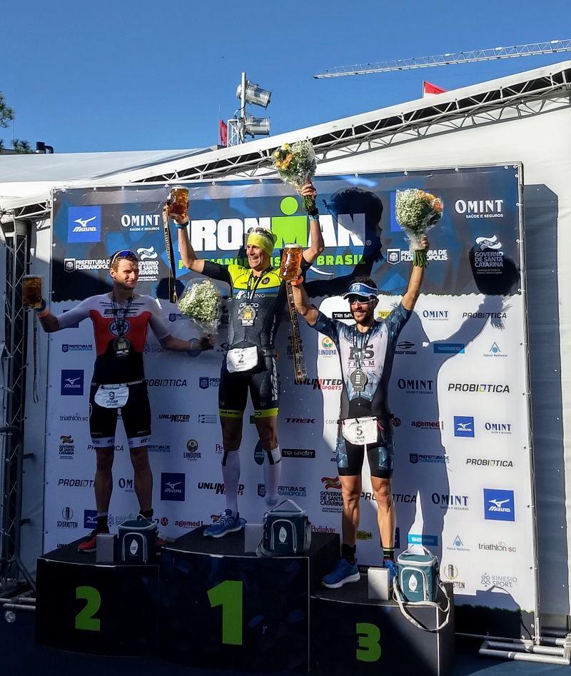 E a vice campeã do Ironman Brasil é de Santa Catarina
