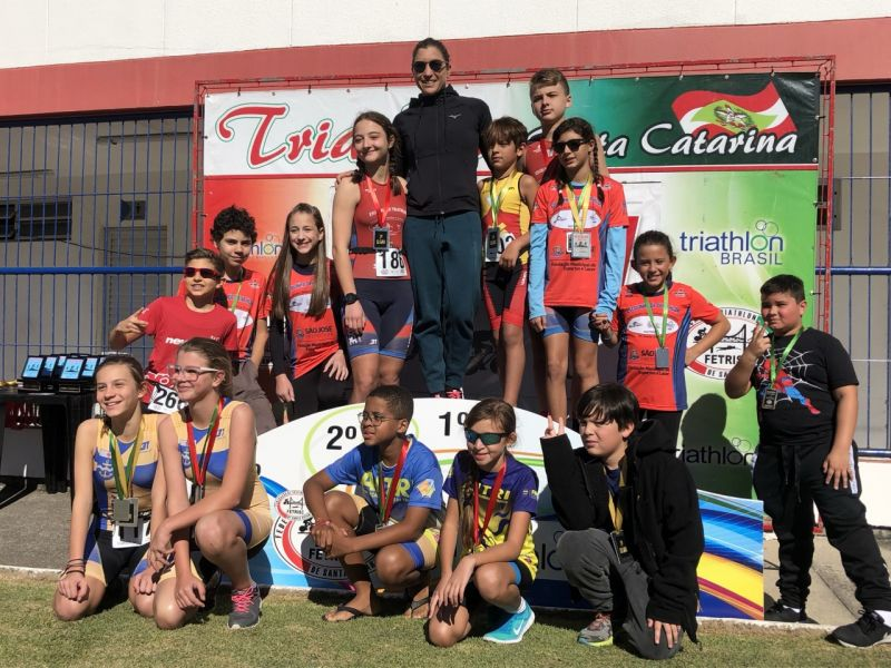 Duathlon de São José primeira etapa Campeonato Catarinense