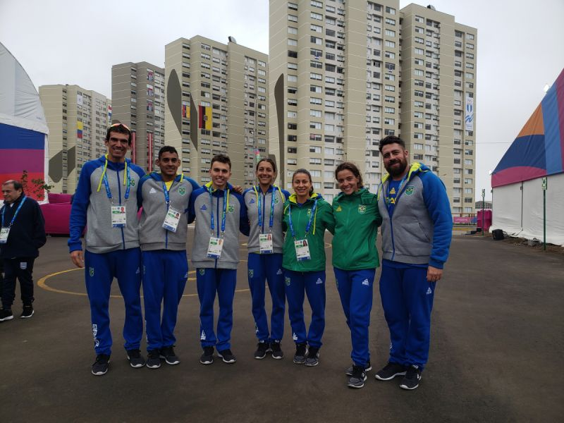 Triathlon nos Jogos Pan Americanos Lima 2019