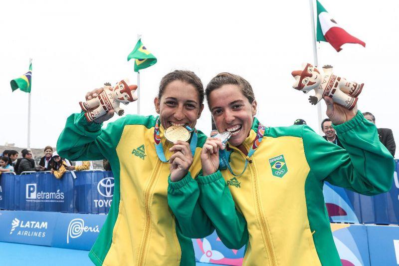 Triathlon brasileiro é ouro no Pan