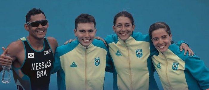 Melhor campanha do triathlon brasileiro no Pan Americano