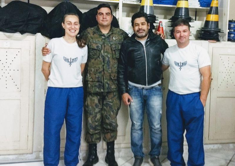 Reunião na Base Aérea de Florianópolis trata de detalhes do Triathlon Sprint em 6 de outubro