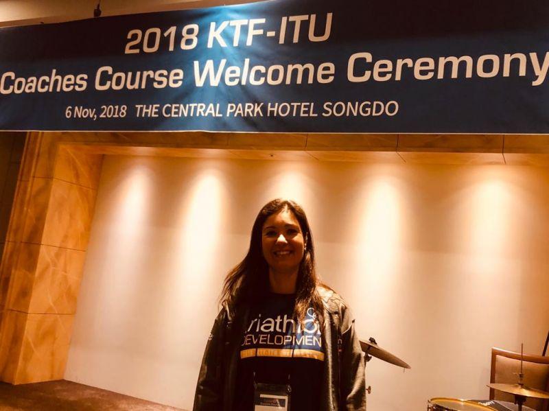 Curso ITU Coaches Course Level 2  Korea