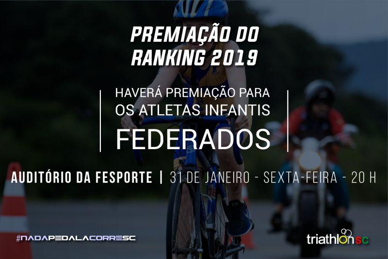 Premiação do Ranking 2019