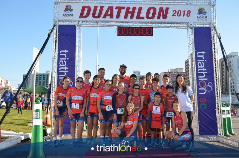 I Etapa Campeonato Catarinense de Duathlon 2018 -  Beira Mar São José